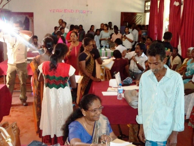 Medical Camp  at Pussellawa