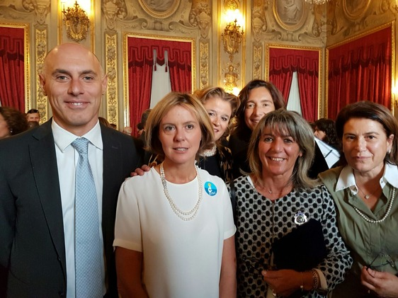 The Ministry of Health Beatrice Lorenzin and  Alessandra Colcelli Gasperini NC President