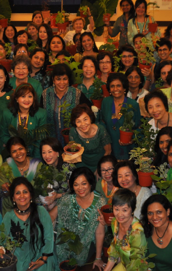 'LIVE GREEN TODAY FOR A BETTER TOMORROW' 130 members from District 330 attended the luncheon.