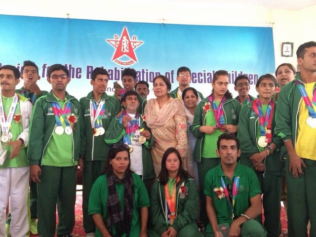 Medal Winners of the World Special Olympics, 2015.
