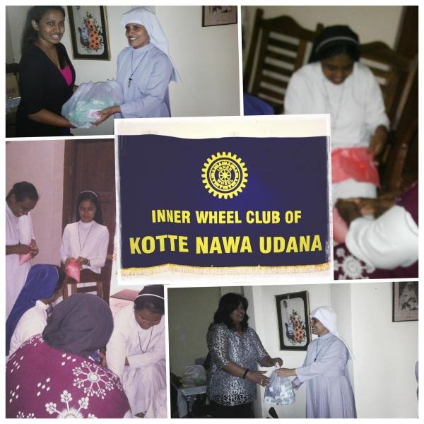 Collection of items, IW Club Kotte Nawa Udana