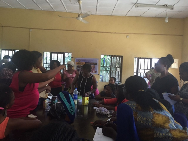 November 2016, there was a skills acquisition training and empowerment for 40 beneficiaries