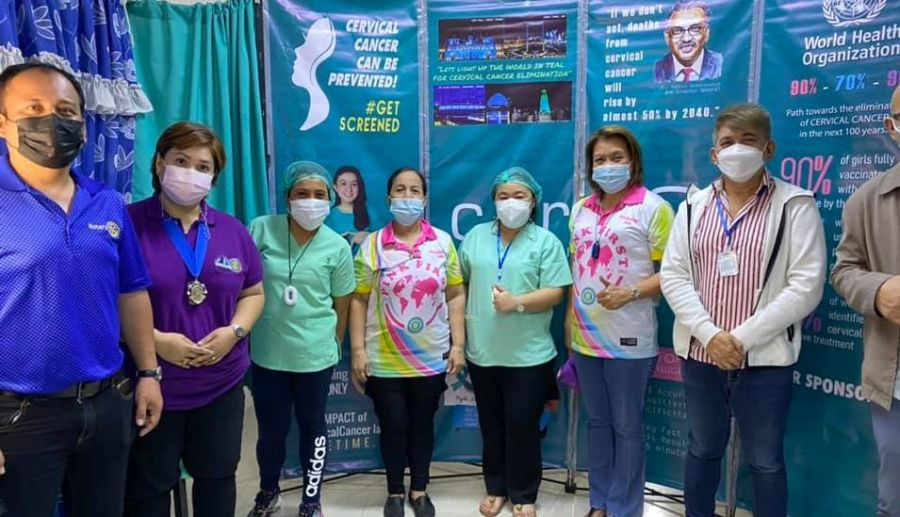 CERVIQ SUPPORTS IWC CENTRAL MAKATI CERVICAL CANCER AWARENESS CAMPAIGN 5