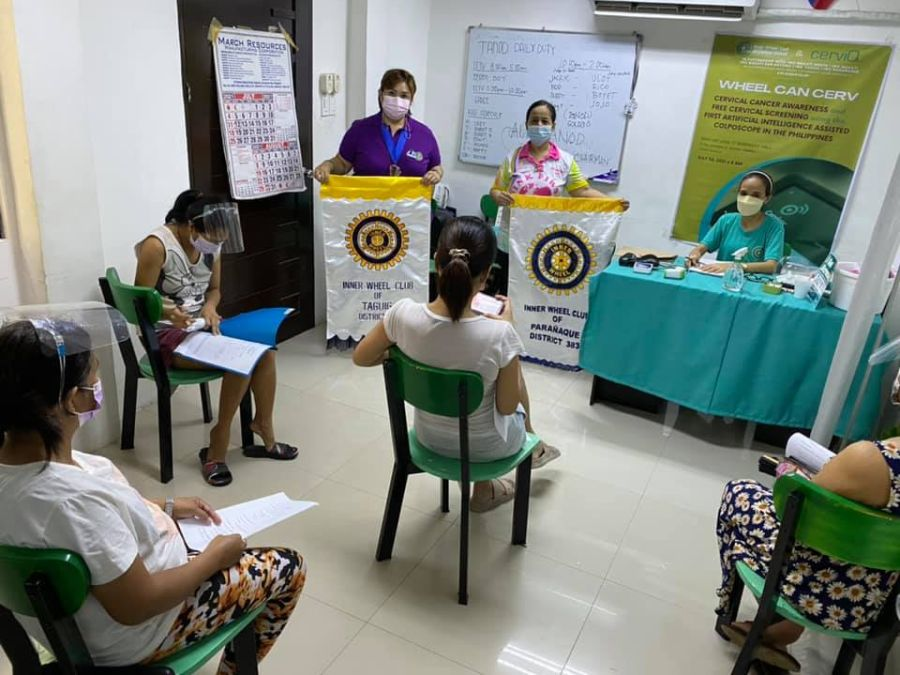 CERVIQ SUPPORTS IWC CENTRAL MAKATI CERVICAL CANCER AWARENESS CAMPAIGN 4